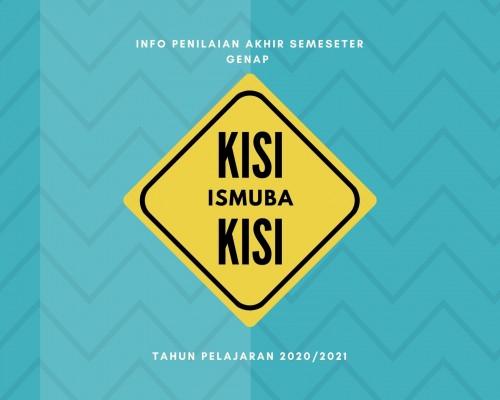 KISI - KISI PAS ISMUBA TAHUN PELAJARAN 2020/2021 SMK MUHAMMADIYAH KARNGMOJO KELAS X, XI DAN XII