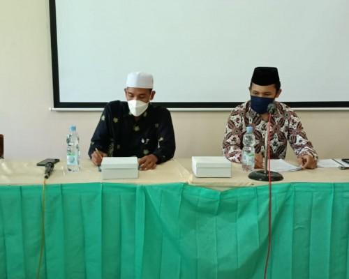 MoU Pembangunan Masjid PPM Darul Mujahidin