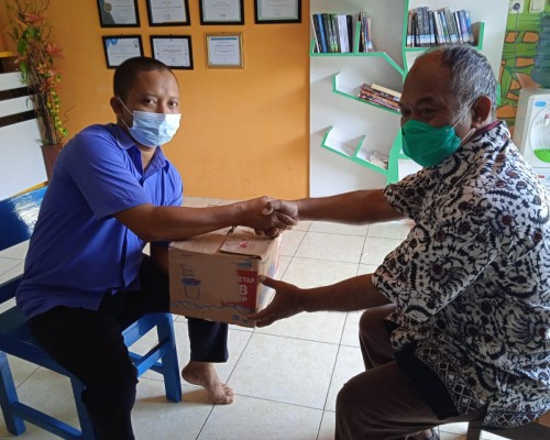 Pustaka Moeka Media Daksa Open Donasi Buku